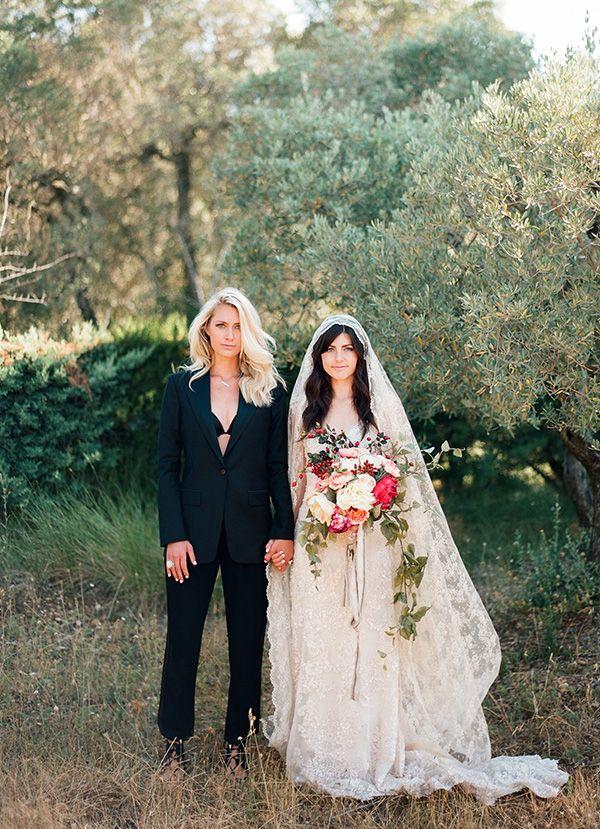 mature lesbians in wedding dress pic