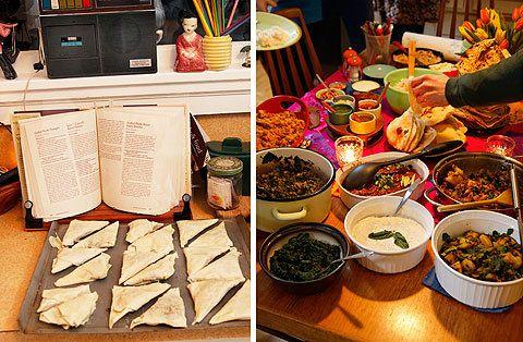 Indian dinner recipes indian recipes pinterest saag friday indian dinner recipes forumfinder Images