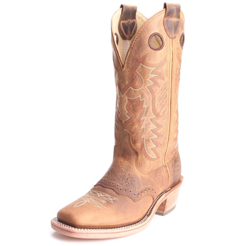 Tan Double H Mens Allen ICE Cowboy Boots Boots, Mens