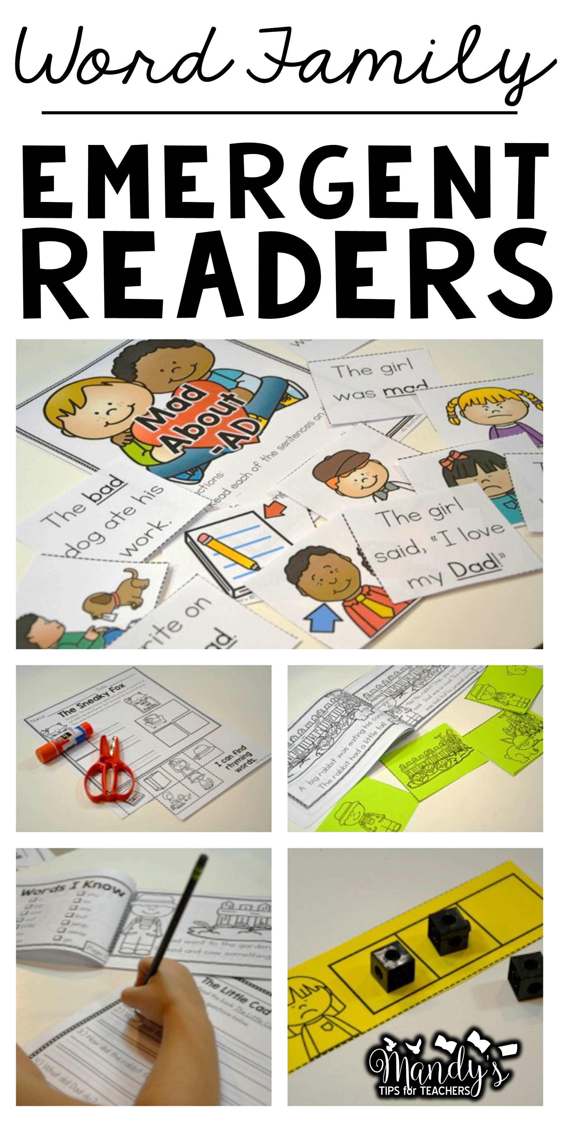 Emergent Readers Short A Word Familes And More Bundle