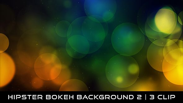 Hipster Bokeh Background 2 Full HD 1920×1080 | Seamless Looped Video