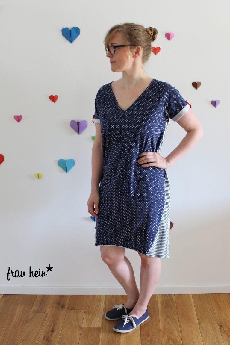 frau hein : I love Herthas Kleid   ☆ Schnittmuster \