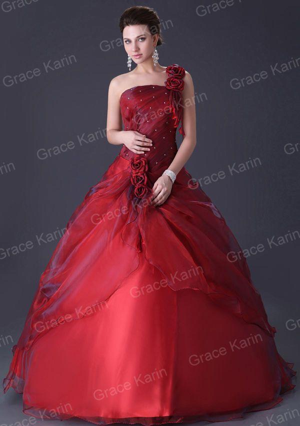 Charmant Abendkleid Brautjungfer Brautkleid Hochzeitskleid Ballkleid ...