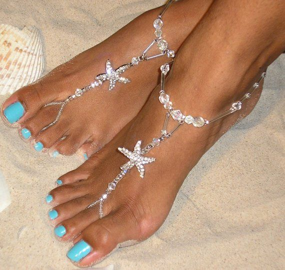f8b35124bab73 Happi Feet - barefoot sandals - beach wedding barefoot sandals - bridal  barefoot sandals - beach wed
