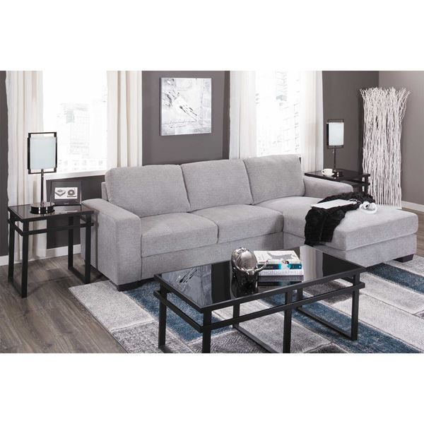 Best Charleston Light Gray 2 Piece Sectional Sectional Sofa 400 x 300