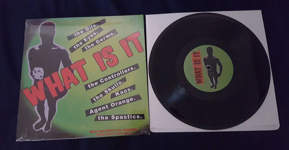 What Is It Vinyl 10 What Records Germs Agent Orange Punknewwave Vinyl Agent Orange Records