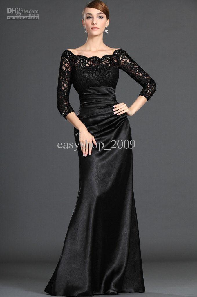 long sleeve one shoulder dress floor length lace dressthat