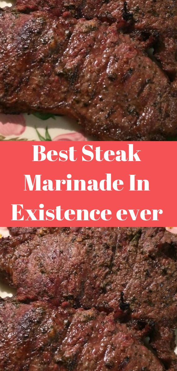 Best Steak Marinade In Existence ever #marinadeforbeef