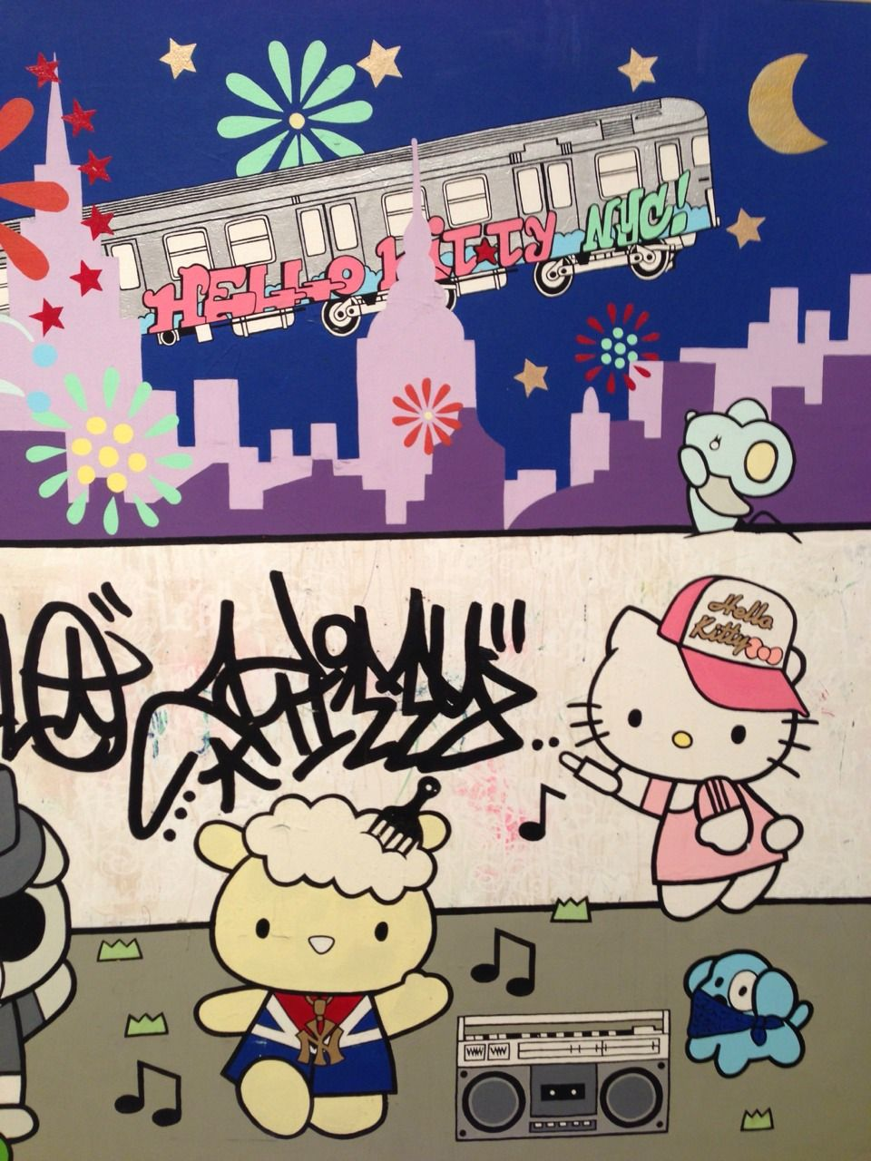 Something Sanrio — hello kitty graffitis