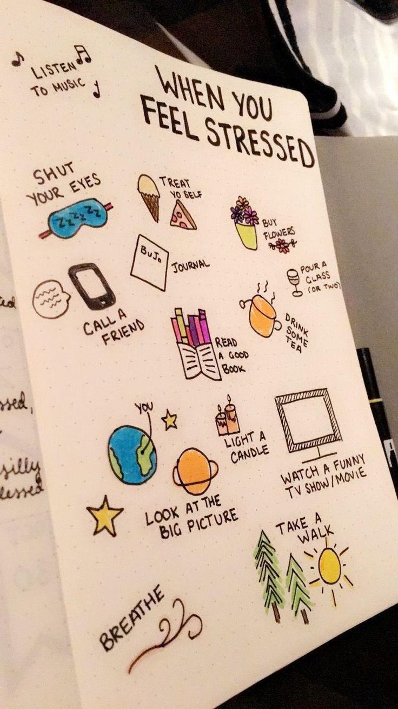 Easy Bullet Journal, Wie man auf kreative Weise organisiertes Leben verwirklicht #bulletjournalideas