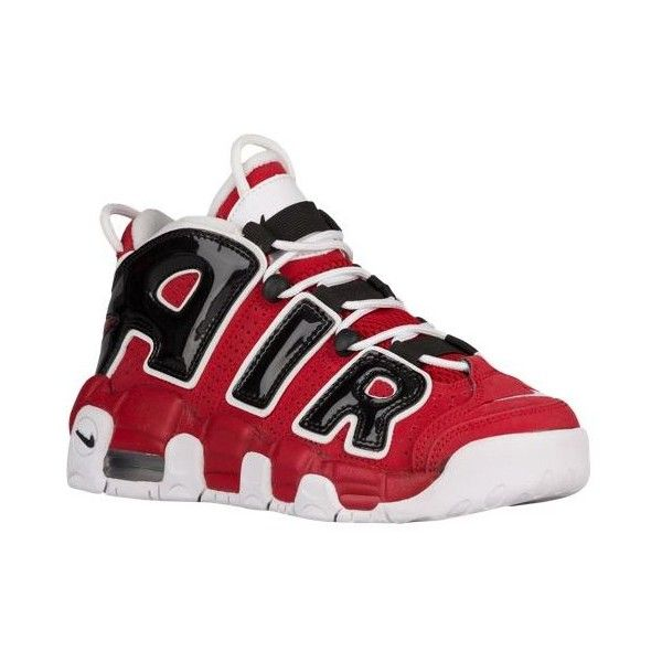 950b9a449e Nike Air More Uptempo - Boys' Grade School - Shoes ($130) ❤ liked on  Polyvore featuring shoes