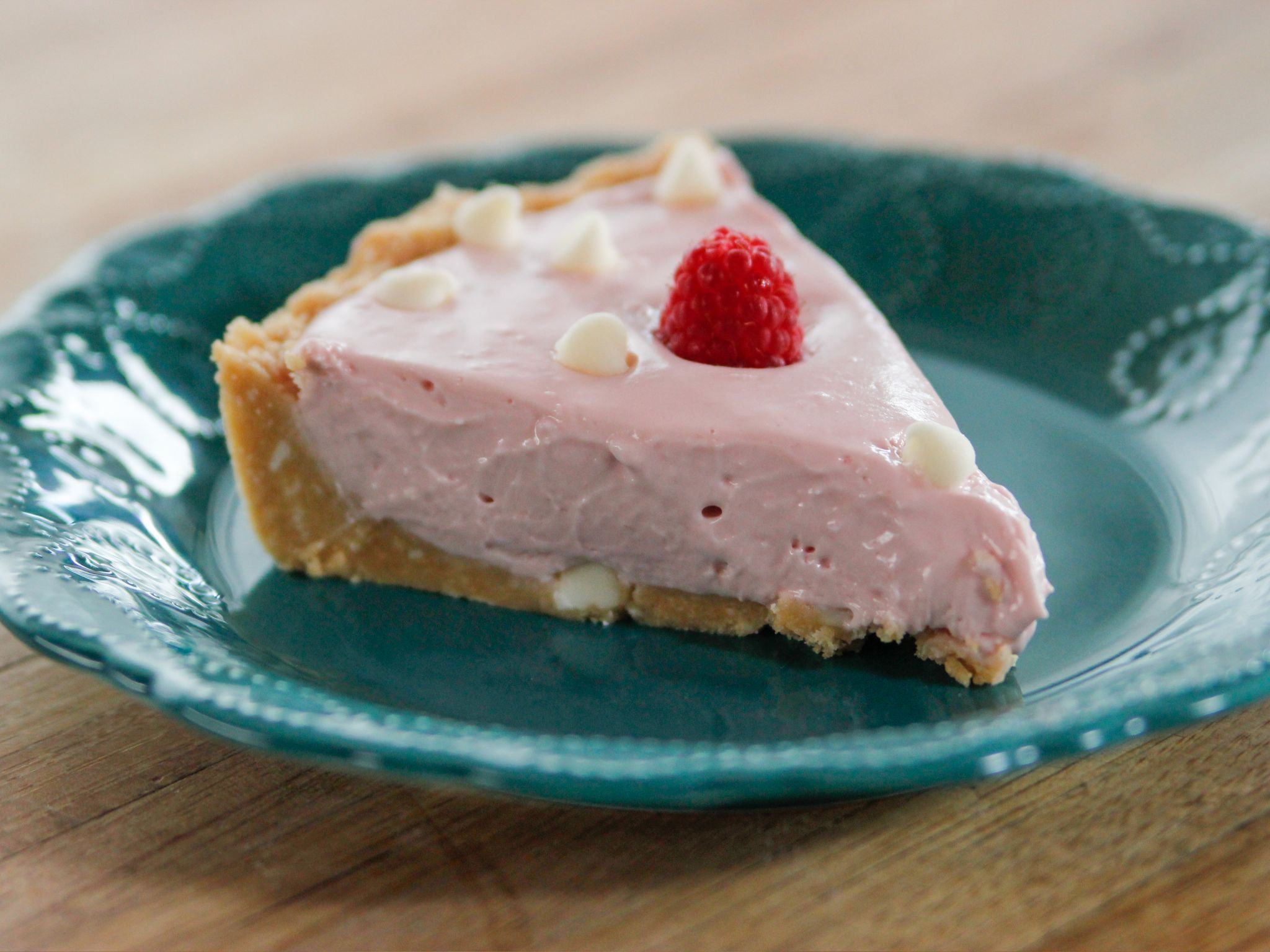 Check out White Chocolate Raspberry Cheesecake. It's so easy to ...