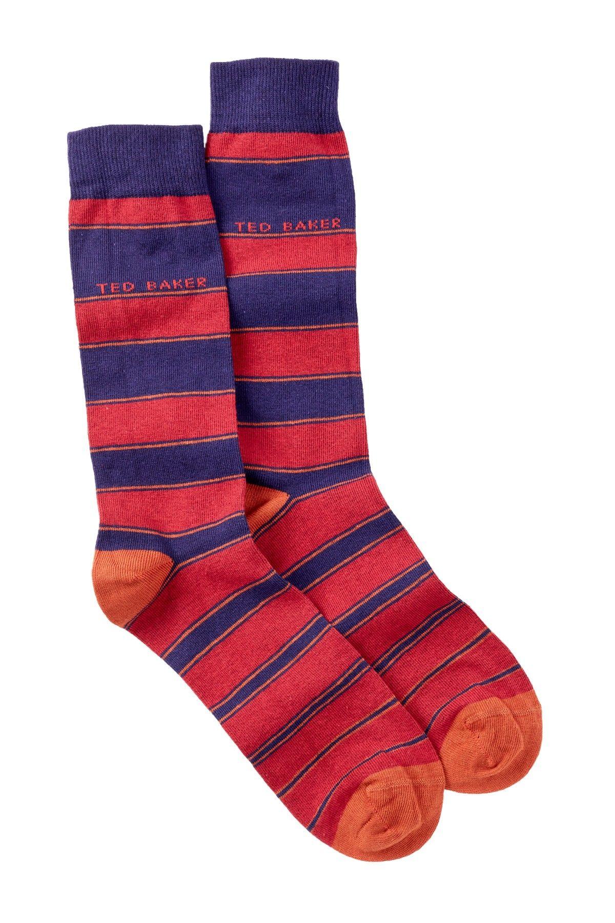 Ted Baker London   Korowiz Graduated Stripe Socks   Free shipping ...