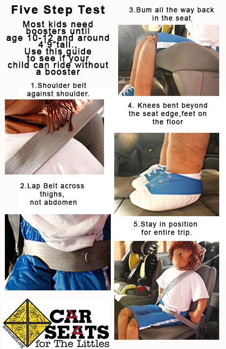 Five Step Test Car Seats For The Littles Step Test Child Passenger Safety Car Seats