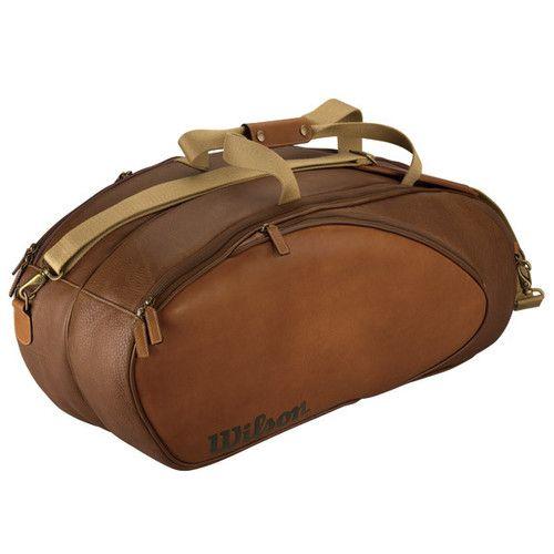 Wilson Leather Tennis Bag Tennis Bags Tennis Bag Tennis Racquet Bag