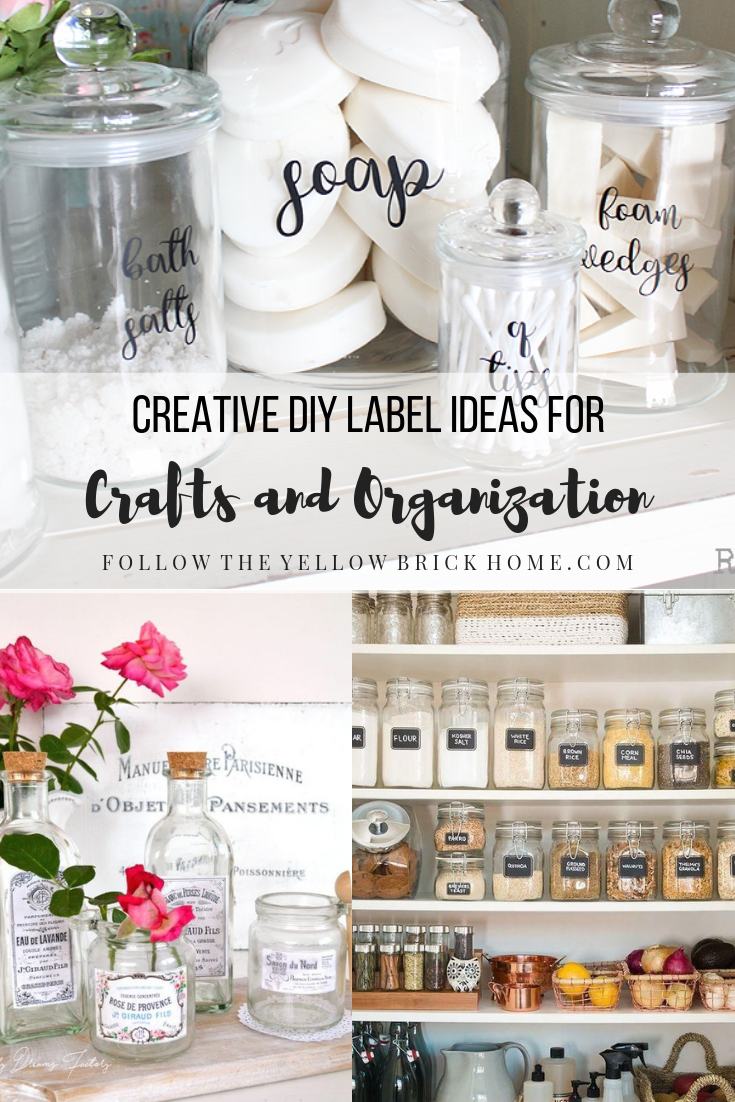 Creative Diy Label Ideas For Crafts And Organization Diy Labels