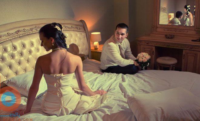 بالصور ليلة دخلة العروس