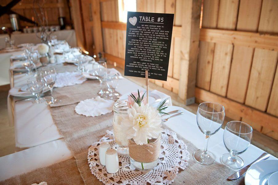 Rustic Diy Dream Wedding Featuring Burlap Lace In British Columbia Canada
