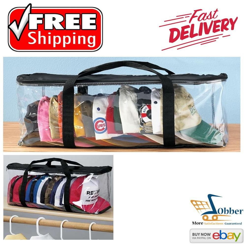 Caps Storage Space Bags Beanies Safety Carriers Black Pvc Baseball Cap Lover Hat Space Bags Storage Spaces Hat Storage