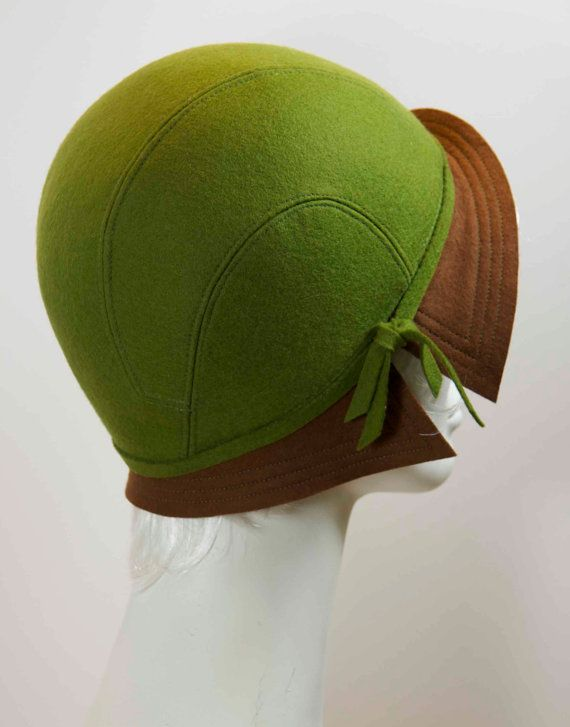 1930s style cloche hat pattern by dldesignshatpatterns on