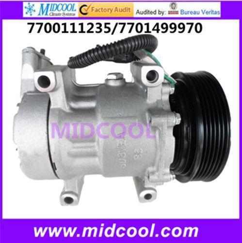 High Quality Auto Ac Compressor 6v12 For Renault 7700111235