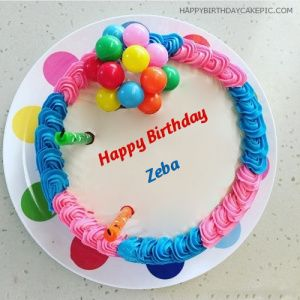 Zeba Happy Birthday Cakes Pics Gallery