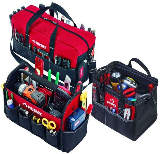 Hot Deal Husky 3 Tool Bag Combo For 20 Husky Tool Bag Tool