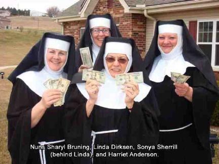 Nuns On The Run Group Fancy Dress Fancy Dress Running