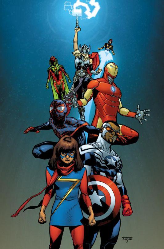 all new all diferent #avengers #marvel
