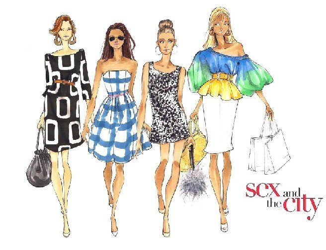 *Sex and the City* By Hayden Williams
