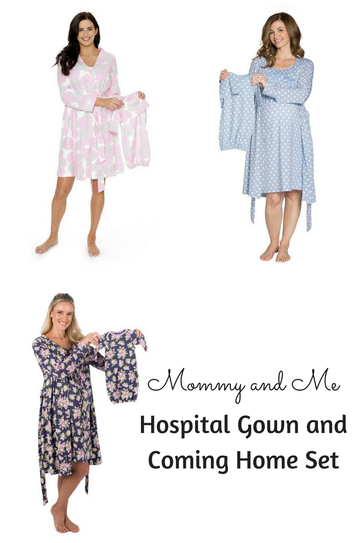 Mommy and me hospital gown and coming home set is comfortable for ...