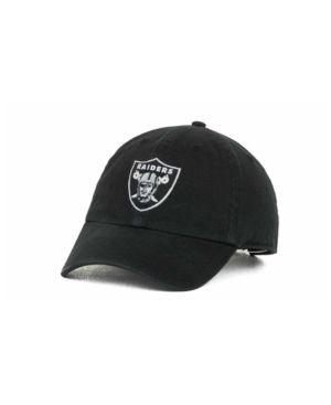 d755e4b5d93af  47 Brand Oakland Raiders Clean Up Cap - Black.