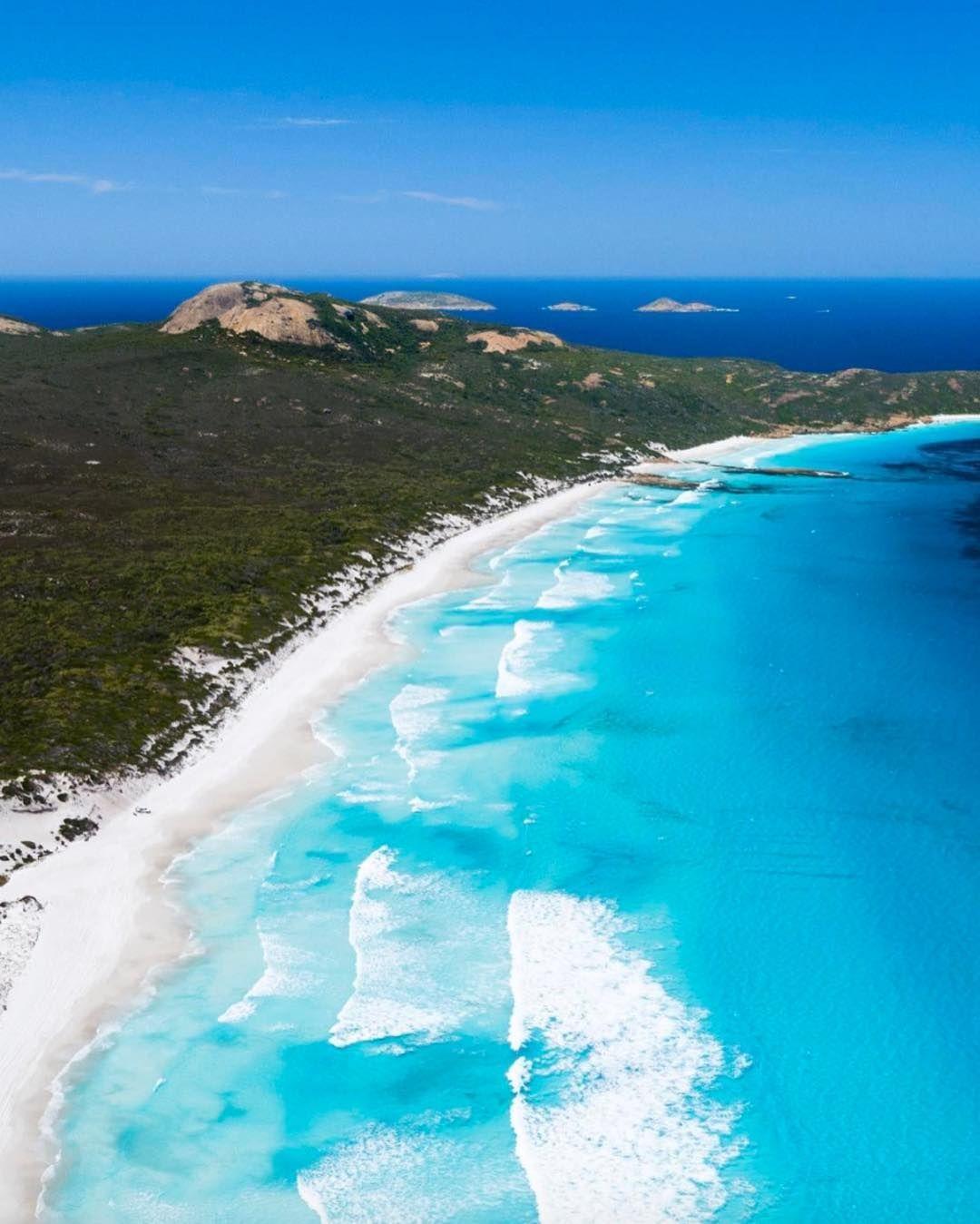 Lucky Bay Cape Le Grand Esperance Voyage De Reve Destination Voyage Vacances Destination