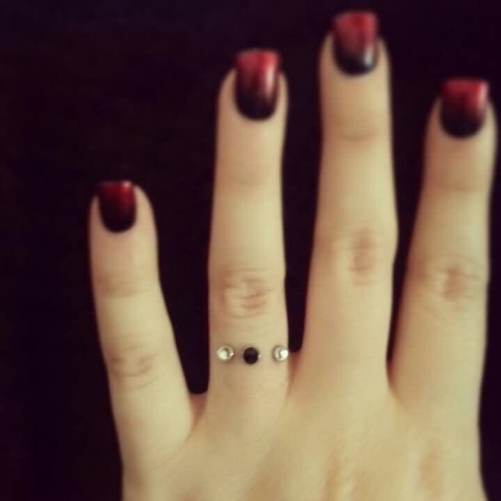 Wonderful Cute Finger Ring Piercing For Girls Idea
