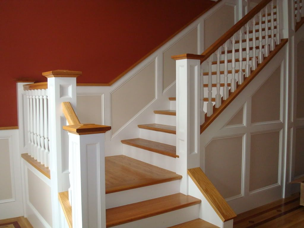 Wainscoting Going Up Stairs | Help  Wainscoting On Stairs?   Home  Decorating U0026 Design Forum .