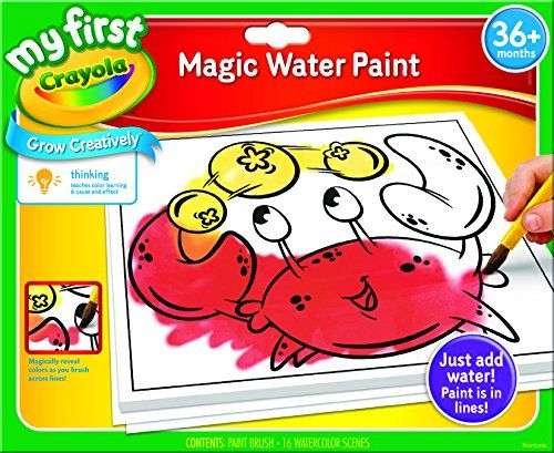 Kids Watercolor Paint Crayola My First Crayola Magic Water