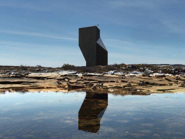 Tower Studio by Saunders Architects #newfoundland #architecture #Canada #minimal #studio