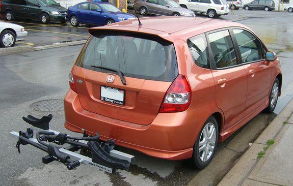 Honda Fit / Fit Sport Rack Installation Photos