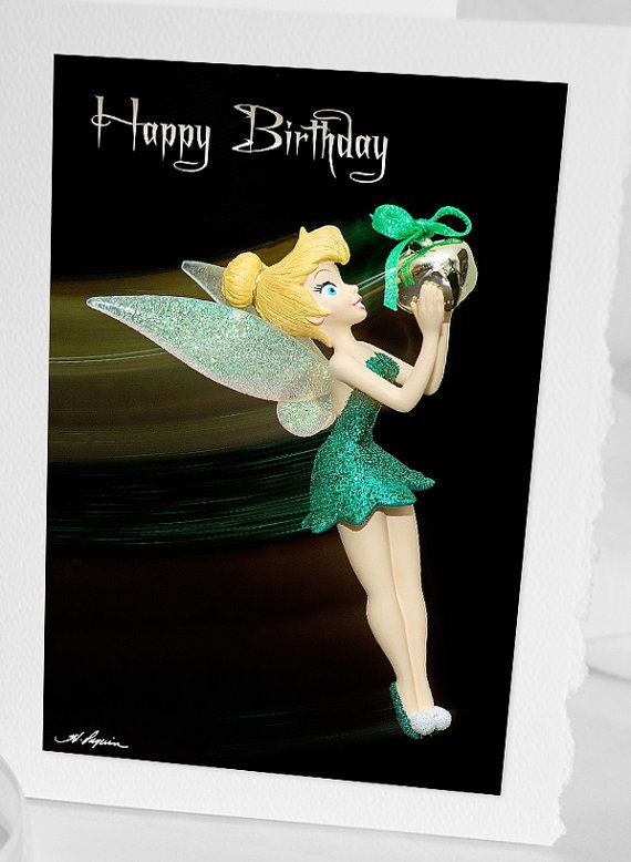 Tinkerbell Photo Greeting CARD Blank by HPaquinPhotography on Etsy, $4.00