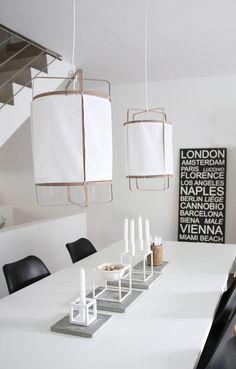 Lampen DIY: CottonLights by Anja   Raumkrönung ...