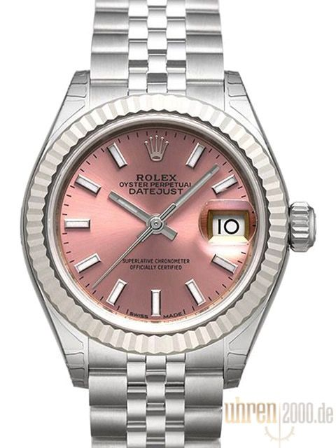 Rolex Datejust 28 279174 Pink Jubile-Band