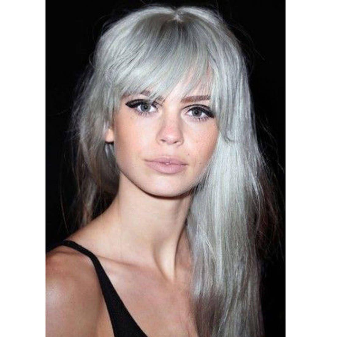 Cheveux blancs jeune 25 jolies façons de porter les