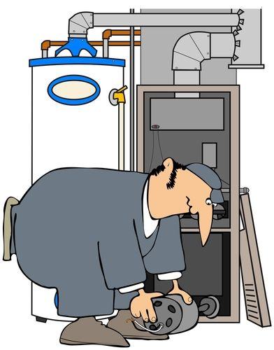 Furnace repair cartoon before you call a ac repair man for Electric motor repair salt lake city