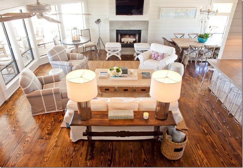 interesting furniture arrangement