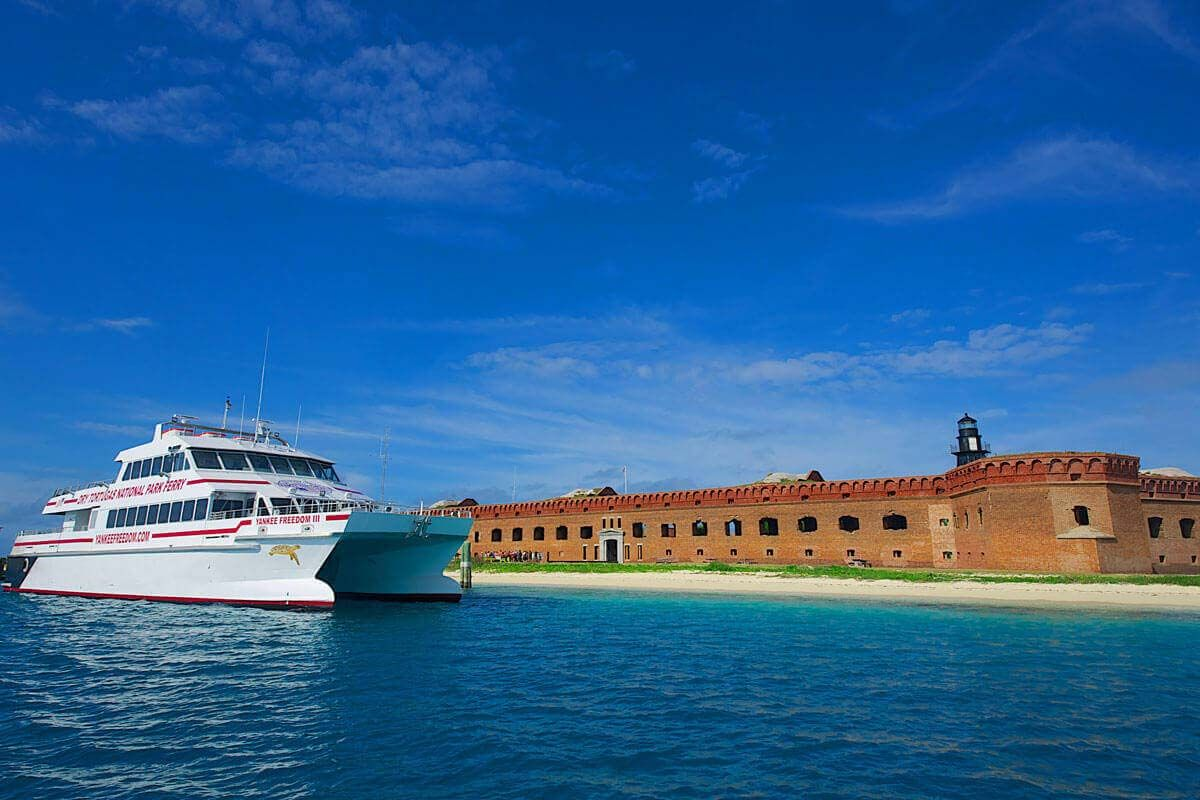 Yankee Freedom Dry Tortugas National Park Ferry Dry Tortugas National Park National Parks Key West Tours