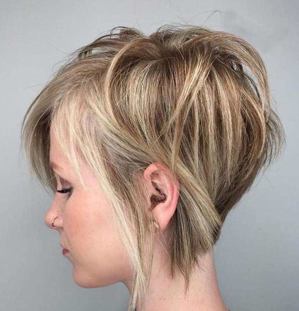 kurze frisuren und haarschnitte f r d nnes haar haarfarben cheveux hair short hair styles. Black Bedroom Furniture Sets. Home Design Ideas