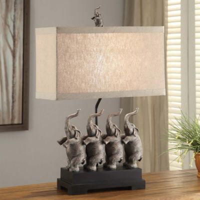 Crestview Collection Conga Elephant Table Lamp   BedBathandBeyond.com
