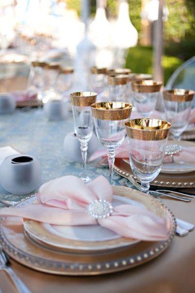 Pink  Gold Wedding - Pink  Gold Wedding  Repinly Weddings Popular Pins