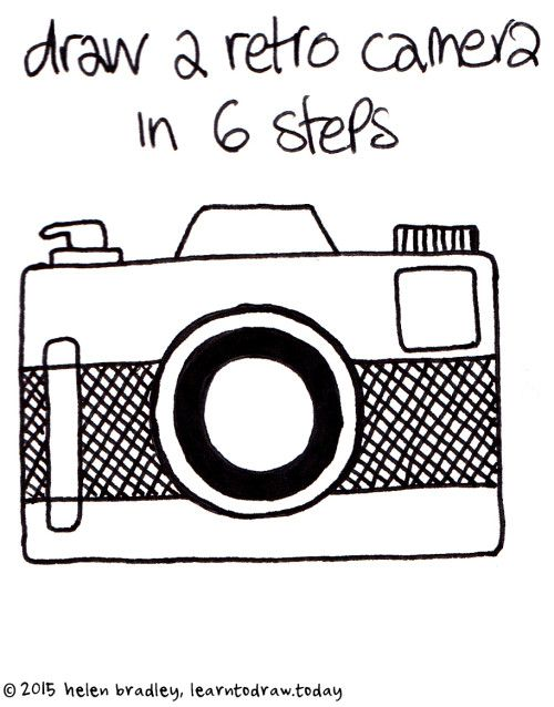 Tags camera camera embroidery doodle drawing easy for Camere dwg