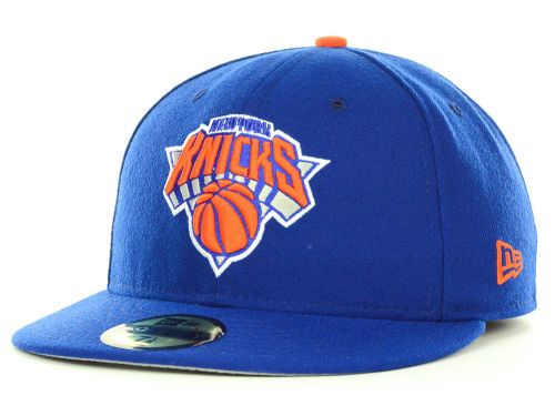 5c6422ff4727d New York Knicks New Era NBA 2013 Current Logo Fitted 59FIFTY Cap Hats